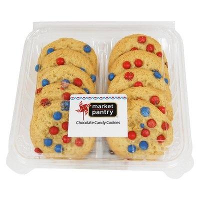 Target Market Pantry Patriotic Chocolate Candy Cookies