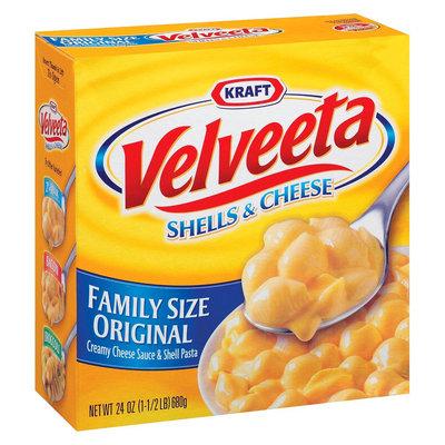 Kraft Velveeta Shells and Cheese Family Size Original 24 oz
