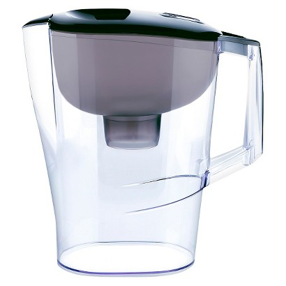 up & up Water Filtration Pitcher - Black - 10 Cup Capacity