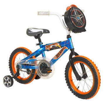 License Boy's Hot Wheels Bike - Blue/Orange (14