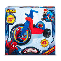 License Big Wheel Ultimate Spiderman Racer