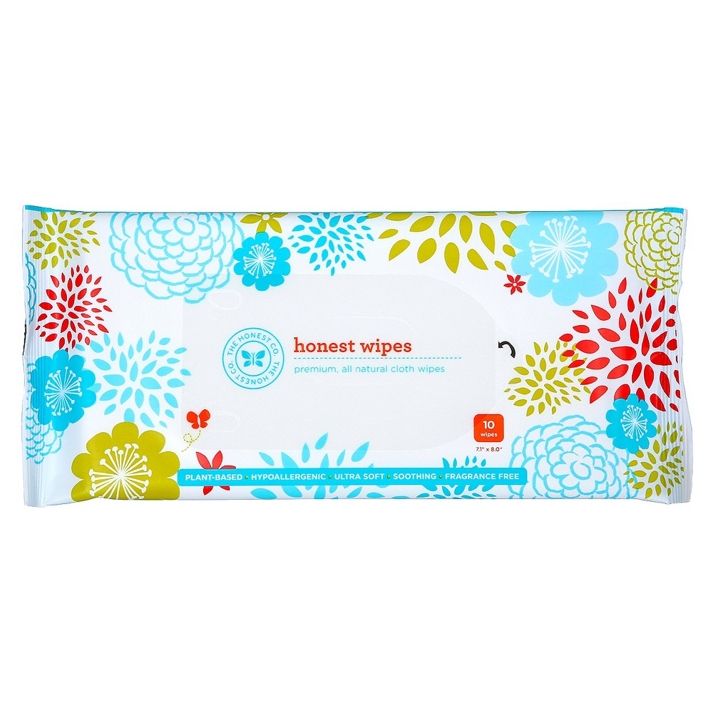 The Honest Company Honest Face, Hand, & Baby Wipes - 10 Count