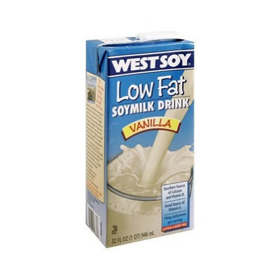 Westsoy Soy Milk Vanilla Low Fat, 32-ounces (Pack of12)