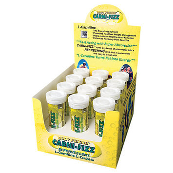 Bricker Labs Carni-Fizz Effervescent Lemon Lime - 10 Tablets - Carnitine