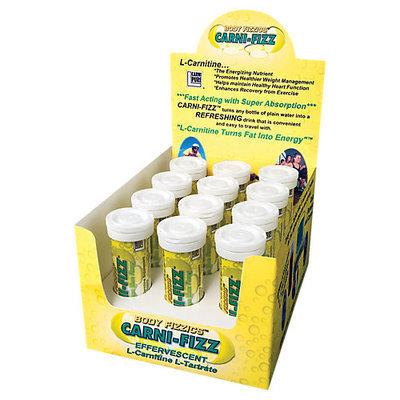 Bricker Labs Carni-Fizz Effervescent Lemon Lime - 10 Tablets - Carnitine