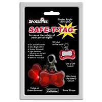 Ethical Pet Products Spotbrites Safe T Tag Bone Led Id Tag - 1 Tag