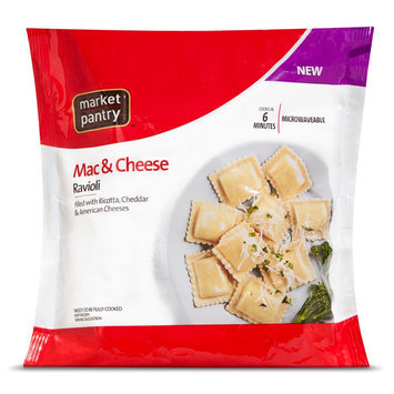 Market Pantry Square Macaroni & Cheese Ravioli 25 oz