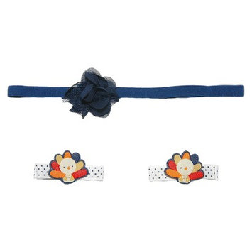 Just One You Made By Carter's Just One YouMade by Carter's Newborn Girls' Turkey Hair Accessory Set