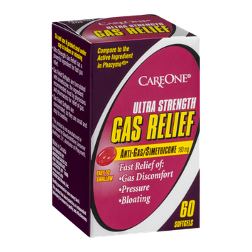 CareOne Ultra Strength Gas Relief Softgels - 60 CT