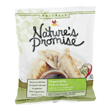 Nature's Promise Naturals Vegetable Potstickers