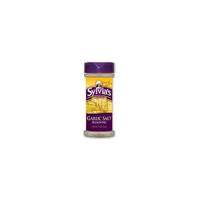Sylvia'S Garlic Salt Seasoning 7.5-Ounce Containers (Pack Of 6)