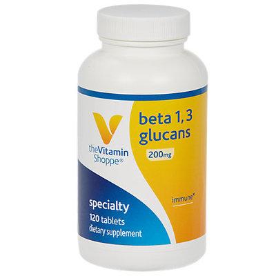 Vitamin Shoppe Beta 1 3 Glucans