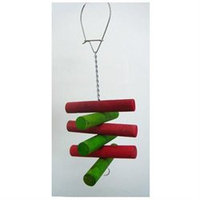 YML TW10 Small Wood Parrot Bird Toy