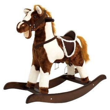 Tek Nek Rockin' Rider Patriot Rocking Horse