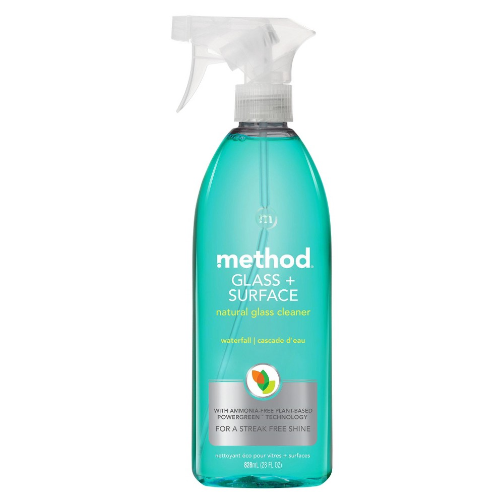 method waterfall scent glass + surface cleaner