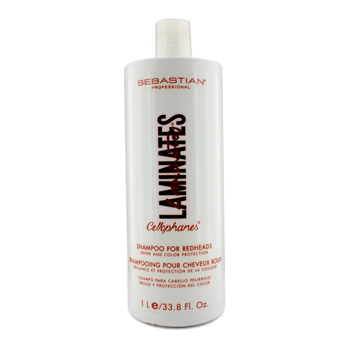 Sebastian Laminates Cellophanes Shine and Color Protection Shampoo (For Redheads) - 1000ml/33.8oz