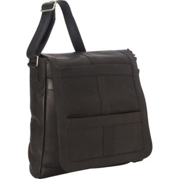 Royce Leather 16 in. Laptop Messenger Bag