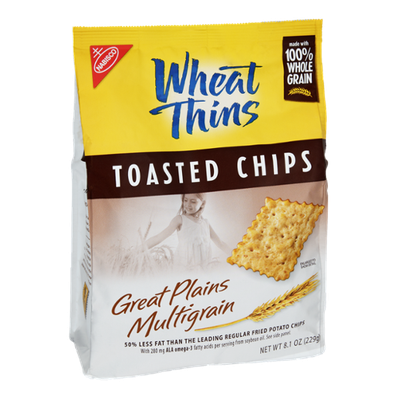 Nabisco Wheat Thins Great Plains Multigrain Toasted Chips