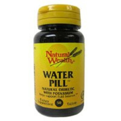 Natural Wealth WATER PILL TABS NAT/WL Size: 50