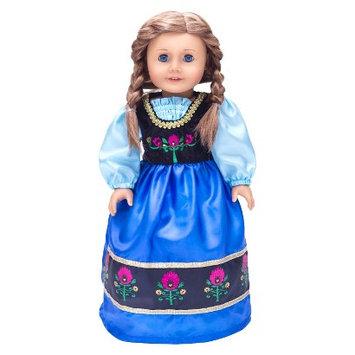Little Adventures Doll Dress Scandinavian Princess