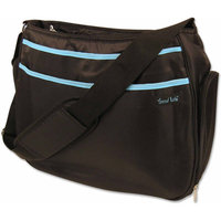 Trend Lab Hobo Diaper Bag - Navy/Orange by Lab