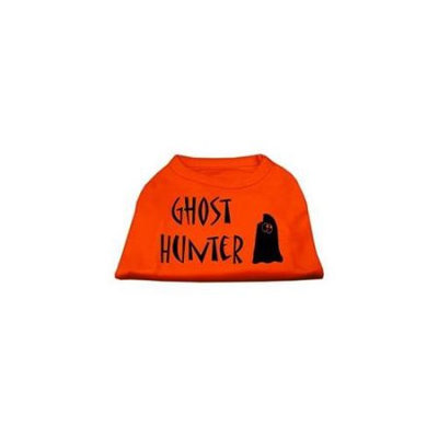 Ahi Ghost Hunter Screen Print Shirt Orange Sm (10)