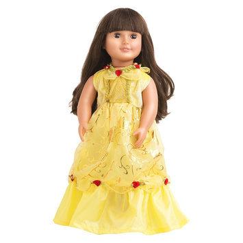 Little Adventures Doll Dress Yellow Beauty
