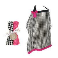 Test NURSING COVER AND BURP CLOTH SET SERENA
