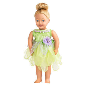 Nkok Little Adventures Tinkerbelle Doll Dress-Up Costume
