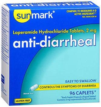 Sunmark Anti-Diarrheal, 2 mg, 96 tabs by Sunmark