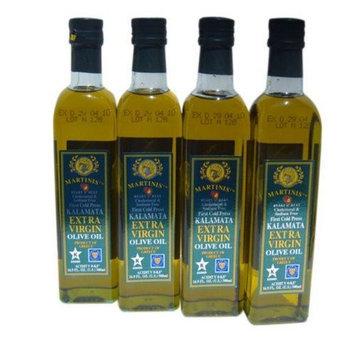 Martinis 4 x 500ml bottles Kalamata Greek Extra Virgin Olive Oil