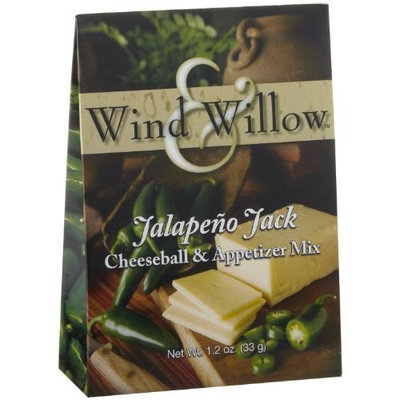 Wind and Willow Jalapeno Jack Cheeseball & Appetizer Mix - 1.2 Ounce (4 Pack)