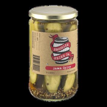 Brooklyn Brine Co. Damn Spicy Pickles