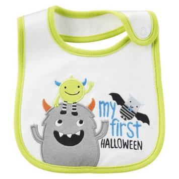 Just One You Made by Carter's Just One YouMade by Carter's Newborn My First Halloween Monster Bib -
