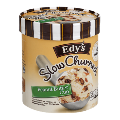 Edy's Slow Churned Ice Cream Peanut Butter Cup
