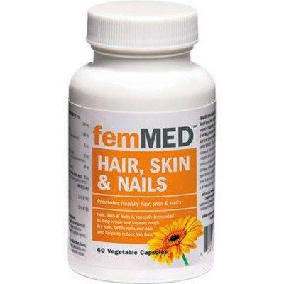 femMED Hair, Skin and Nails - 60 Vegetable Caps
