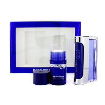 Ultraviolet Man by Paco Rabanne 2 Piece Set