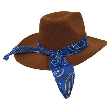 Boots & Barkley Boy Cowboy Hat - Pet Costume M/L