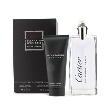 Cartier Declaration d'un Soir Coffret: Eau De Toilette Spray 100ml/3.3oz + Shower Gel 100ml/3.3oz 2pcs
