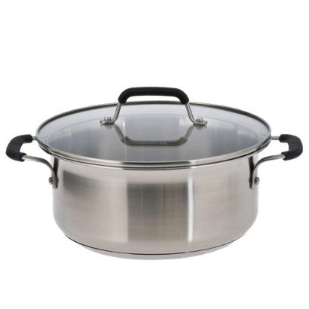 Calphalon Kitchen Essentials from Stainless Steel 5-qt. Dutch Oven
