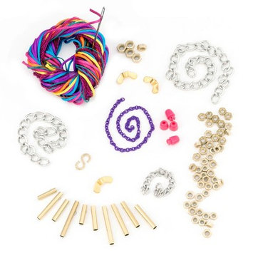 Craftabelle Natural Elements & Hardware/Chains Jewelry Kit Assortment