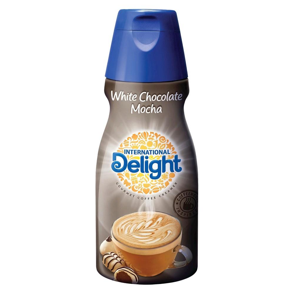 White Wave/horizon International Delight White Chocolate Mocha Creamer 1 pt