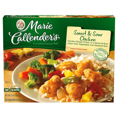 Marie Callender's Marie Callenders Sweet and Sour Chicken Dinner 14oz