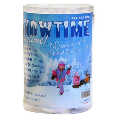 Play Visions Snowtime Anytime Play Snowballs 30-pack