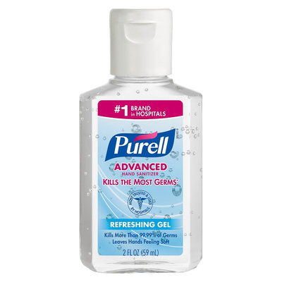 Purell - Aloe and Sanitizer - 2 oz