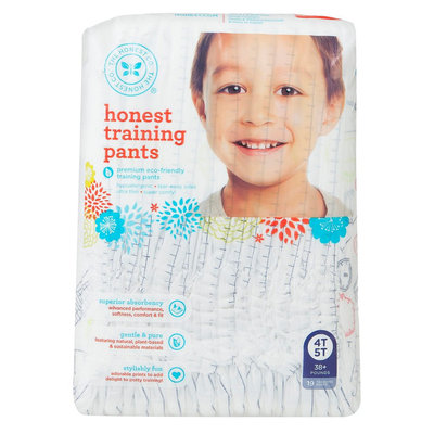 The Honest Company Honest Training Pants Airplane - Size 4T/5T (19 Count)