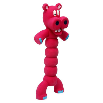 Charming Pet Products - Zonkers Hippo- Red Small - 79978S