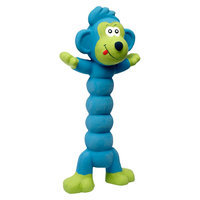 Charming Pet Products 412038 Large Zonkers Monkey - Blue