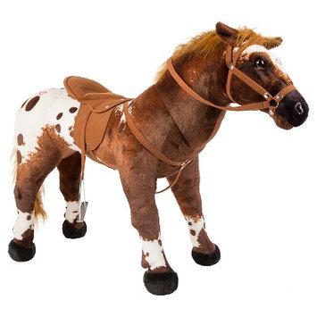 Tek Nek Rockin' Rider Stable Horse - Domino