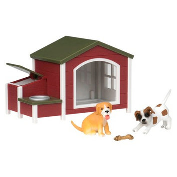Terra By Battat Terra Dog House Animal Figure By Battat